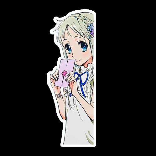 Peeker Anime Peeking Sticker Car Decal PMK17 Meiko Honma Anohana