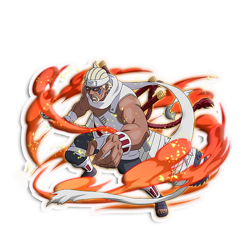 NRT222 Killer B Jinchuriki of the Eight Tailed Gyuki  Naruto anime s