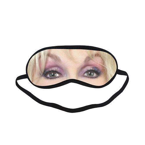 ITEM285 DOLLY PARTON Eye Printed Sleeping Mask