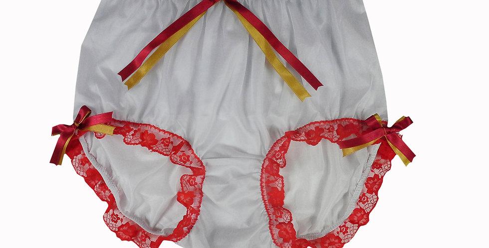 NNH11D71 Handmade Panties Lace Women Men Briefs Nylon Knickers