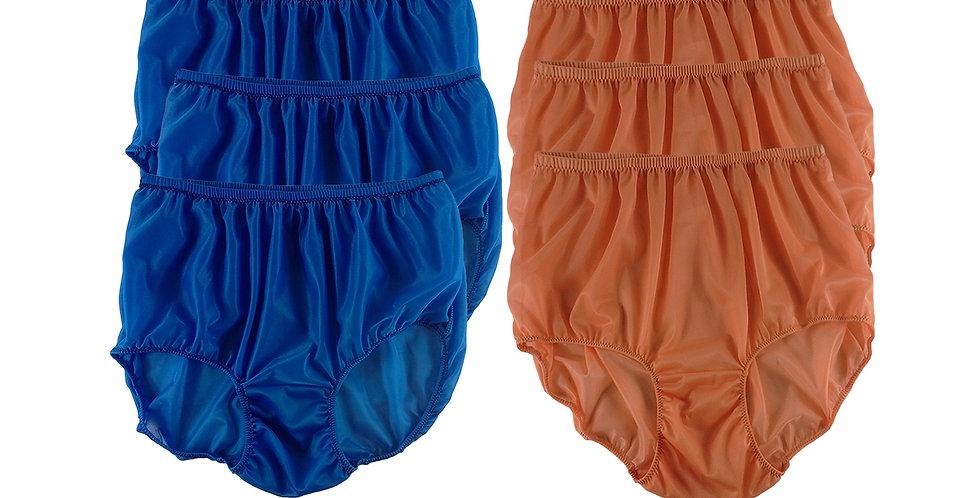 NSD104Lots 6 pcs Wholesale Women New Panties Granny Briefs Nylon Lingerie
