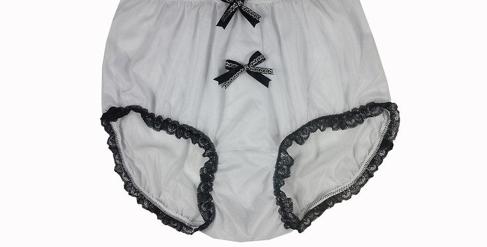 NNH10D128 Handmade Panties Lace Women Men Briefs Nylon Knickers