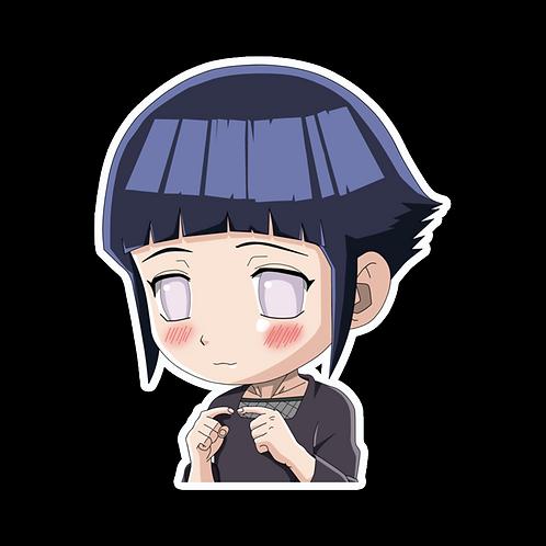 Anime Peeking Sticker Car Window TRUCK Decal PKN28  Hinata Hyuga Naruto