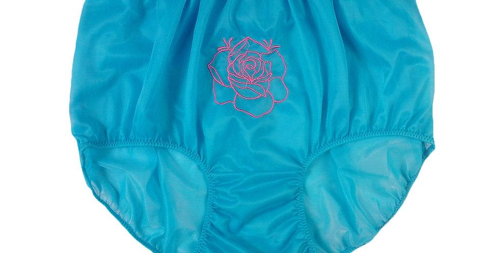 NNH13D06 light blue Handmade Panties Lace Women Men Briefs Nylon Knickers