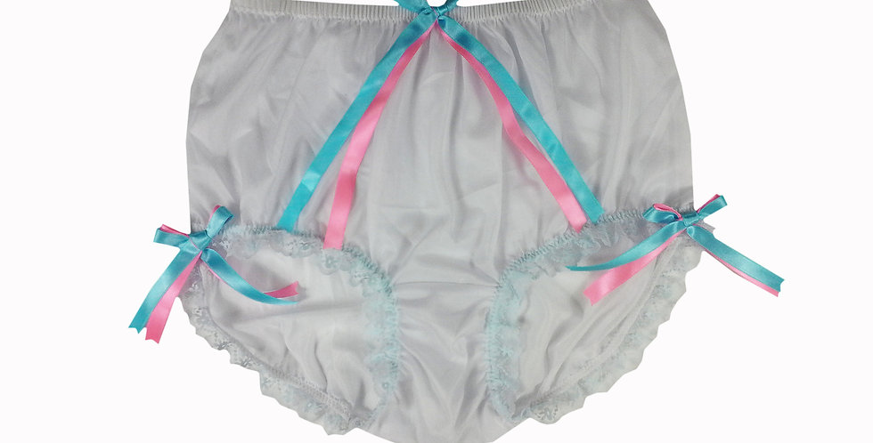 NNH11D87 Handmade Panties Lace Women Men Briefs Nylon Knickers