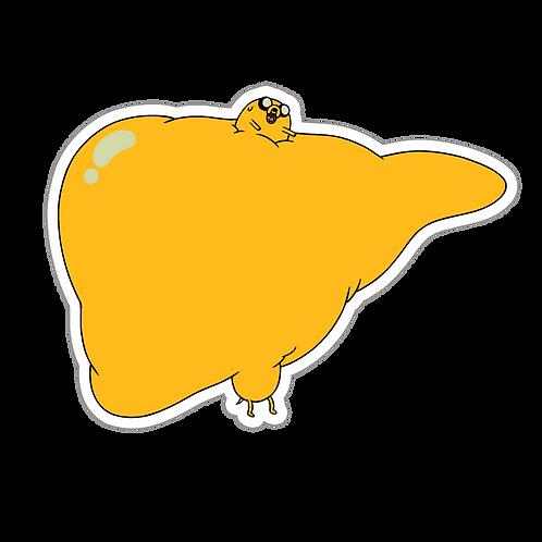 SRAA109 Adventure Time Anime Sticker Bumper Car Window Decal For Helmet