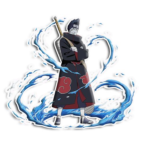 NRT151 Hoshigaki Kisame Akatsuki Kirigakure Naruto anime sti