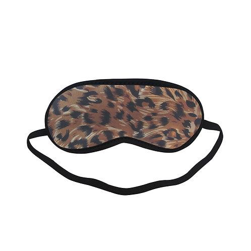 BTEM291 Tiger Skin Eye Printed Sleeping Mask