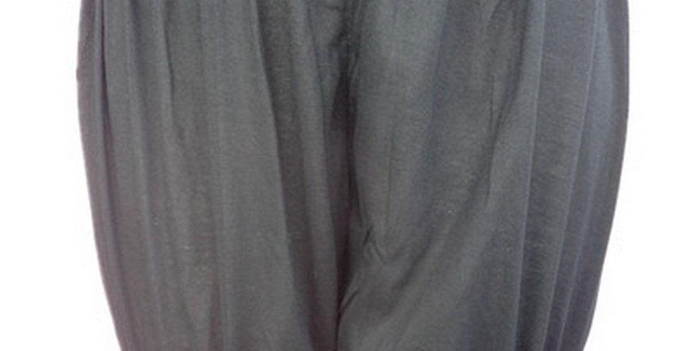 PCPHF3P black Cotton Pettipants Women Slips Lace Lingerie Underwear