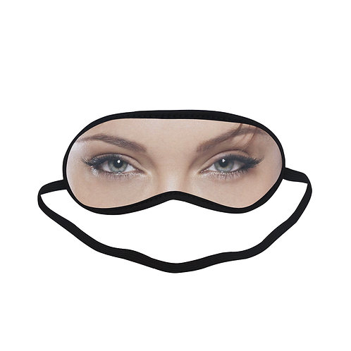 JTEM022 Angelina Jolie Eye Printed Sleeping Mask