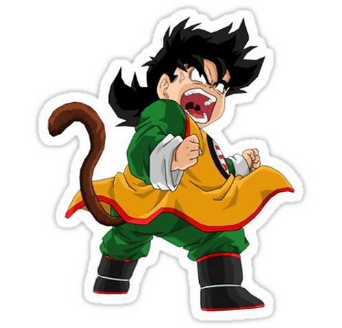 SRBB0014 gohan anime manga shirt Car Window Decal Sticker DRAGON BALL Z
