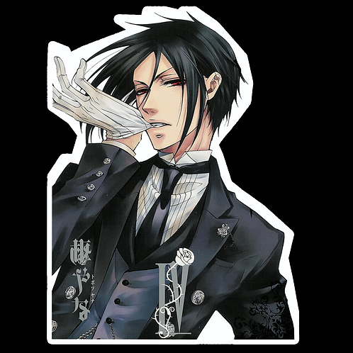 Anime Stickers Die-cut Car motorcycle laptops phone Truck wall BB12 Black Butler