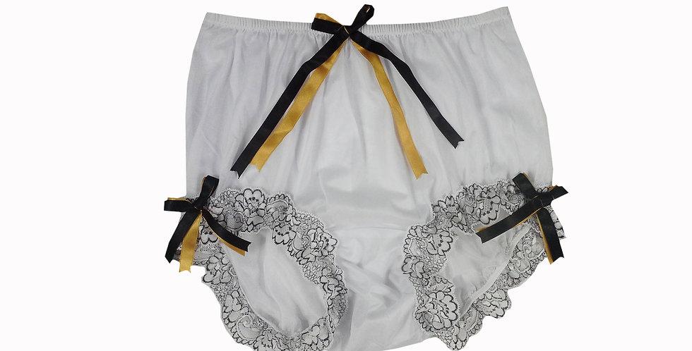 NNH11D131 Handmade Panties Lace Women Men Briefs Nylon Knickers