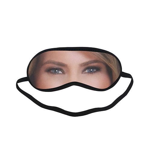 EOL249 Melania Trump Eye Printed Sleeping Mask