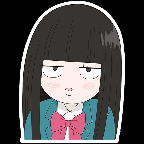 Anime Peeking Sticker Car Window Decal PKN91 Kuronuma Sawako Kimi ni Todoke