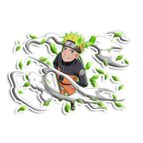NRT549 Uzumaki Naruto 7th hokage Naruto anime sticker Car Decal