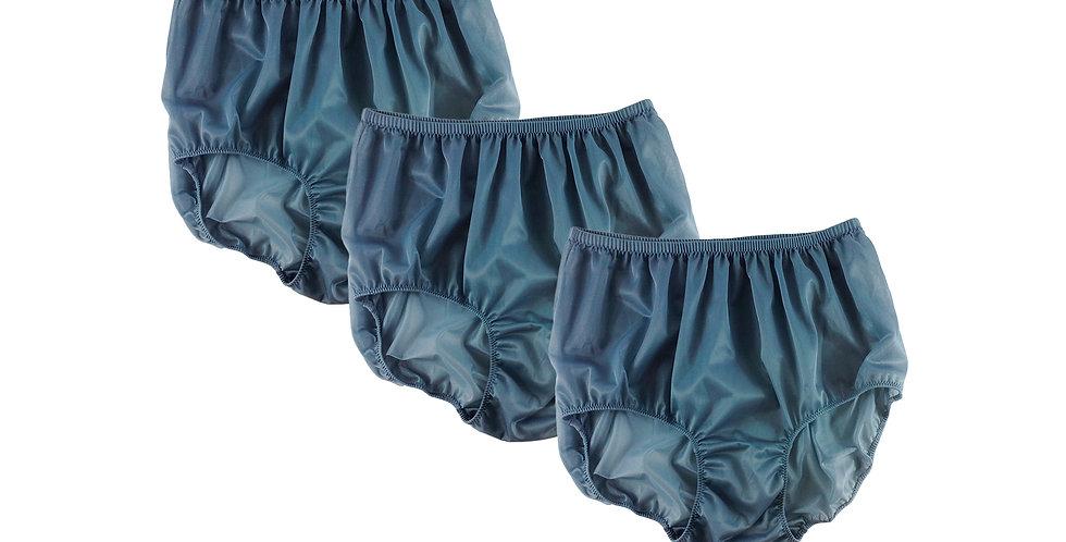 BB8 Gray Lots 3 pcs Wholesale Women New Panties Granny Briefs Nylon