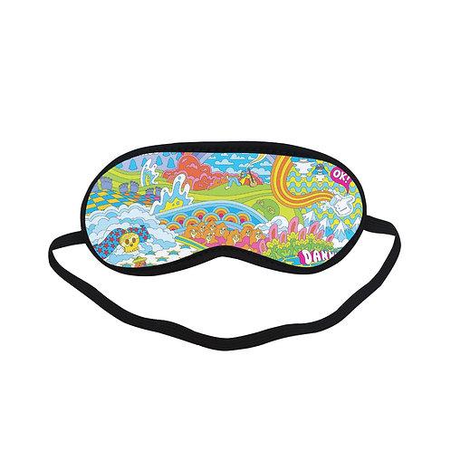 PTEM187 heaven Garden cartoon Eye Printed Sleeping Mask
