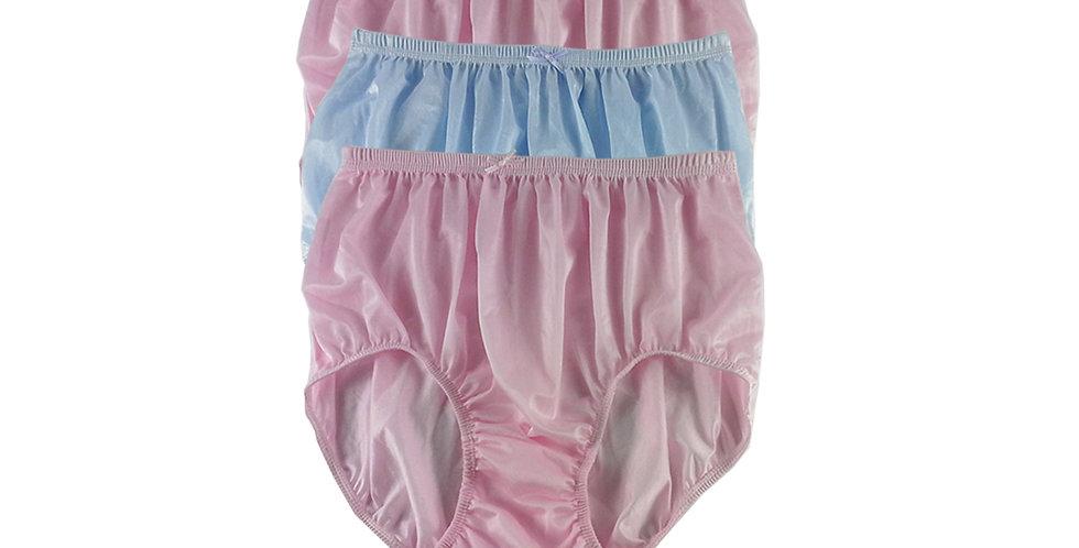 NQTD16 Lot 3 pcs Wholesale New Panties Granny Briefs Nylon Men Women