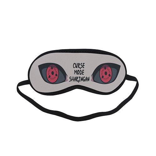 BTEM003 Cursa Mode Sharingan Eyes Naruto Eye Printed Sleeping Mask