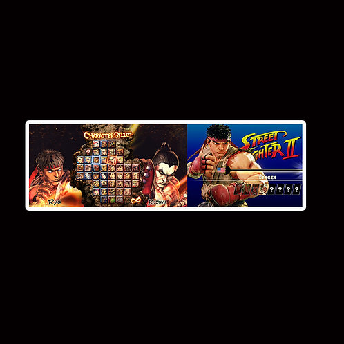 Slap Stickers Anime Stickers Decals Helmet laptops SLSF36 Street Fighter Game
