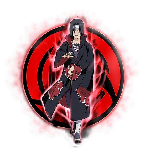 NRT439 Uchiha Itachi Akatsuki Sharingan Naruto anime s