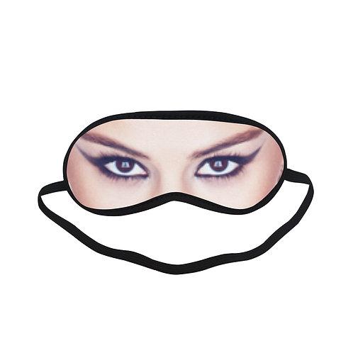 JTEM441 Selena Gomez Eye Printed Sleeping Mask