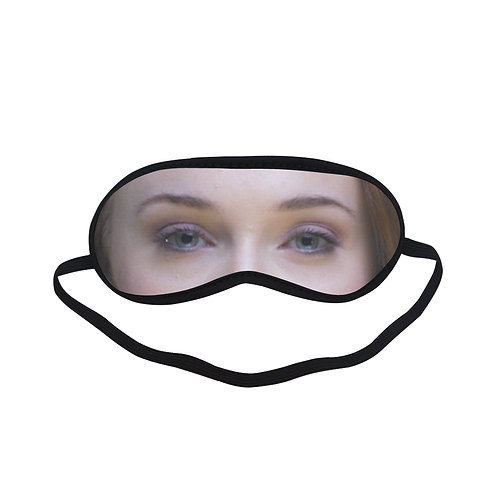 JTEM458 Sophie Turner Eye Printed Sleeping Mask