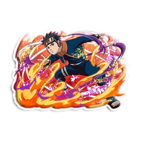 NRT464 Uchiha Obito Sharingan Akatsuki Naruto anime s