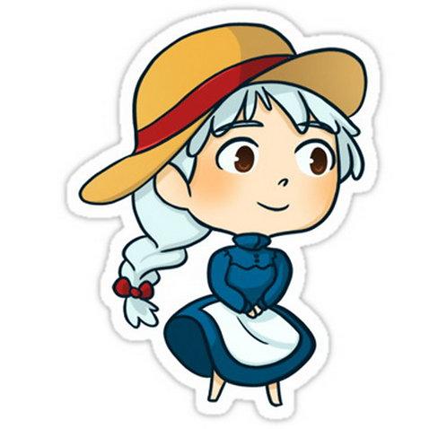 SRBB0622 Sophie (Howl's Moving Castle) anime sticker