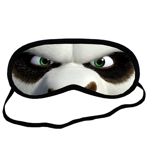 EYM394 Kungfu Kung Fu Panda Eye Printed Sleeping Mask