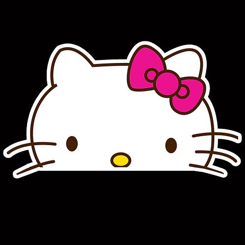 Anime Peeker Sticker Car Window Decals PK060 Hello Kitty