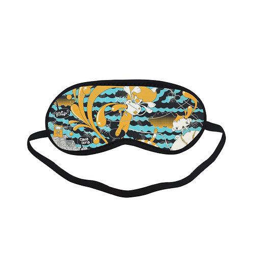 PTEM217 Cartoon Cute Graphic Pattern  Eye Printed Sleeping Mask