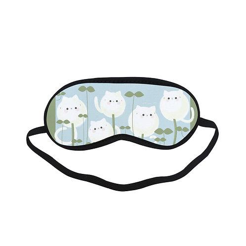 PTEM228 Cute cat Cartoon Art Eye Printed Sleeping Mask