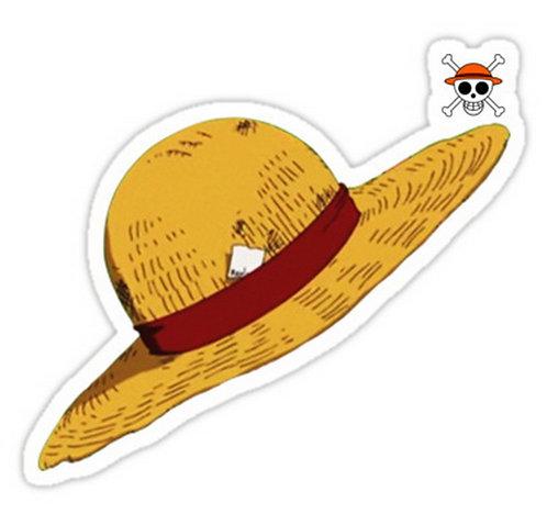 SRBB0601 Luffy's Hat - One Piece anime sticker