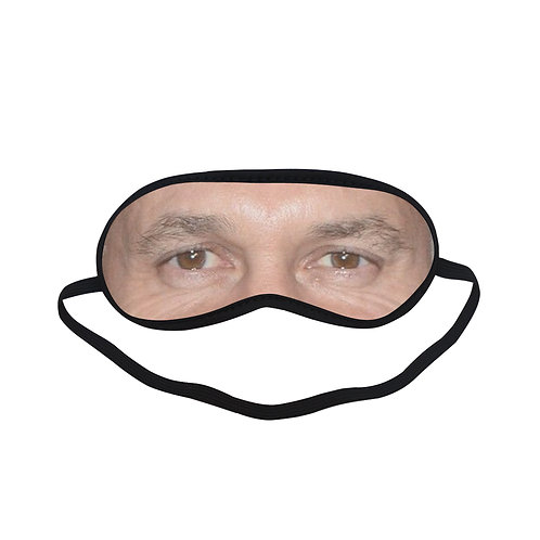 ITEM348 Gary Lineker Eye Printed Sleeping Mask