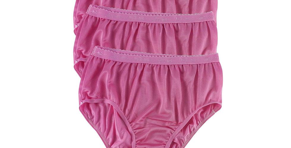 CKT Light Pink Lots 3 pcs Wholesale New Nylon Panties Women Undies Briefs