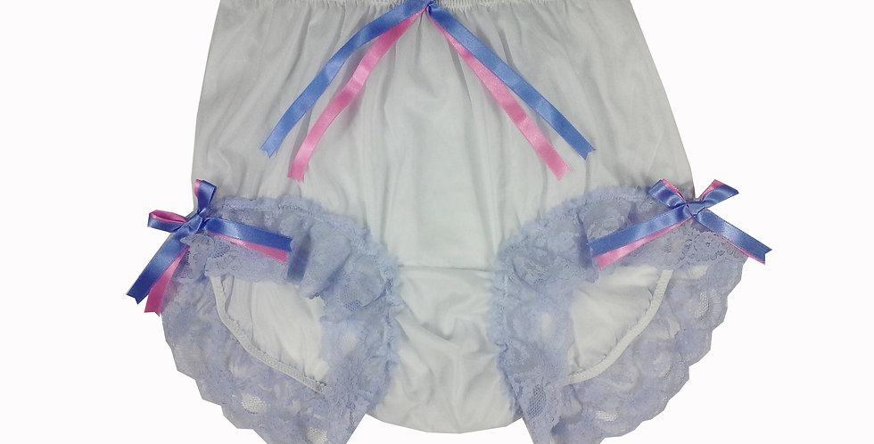 NNH11D113 Handmade Panties Lace Women Men Briefs Nylon Knickers