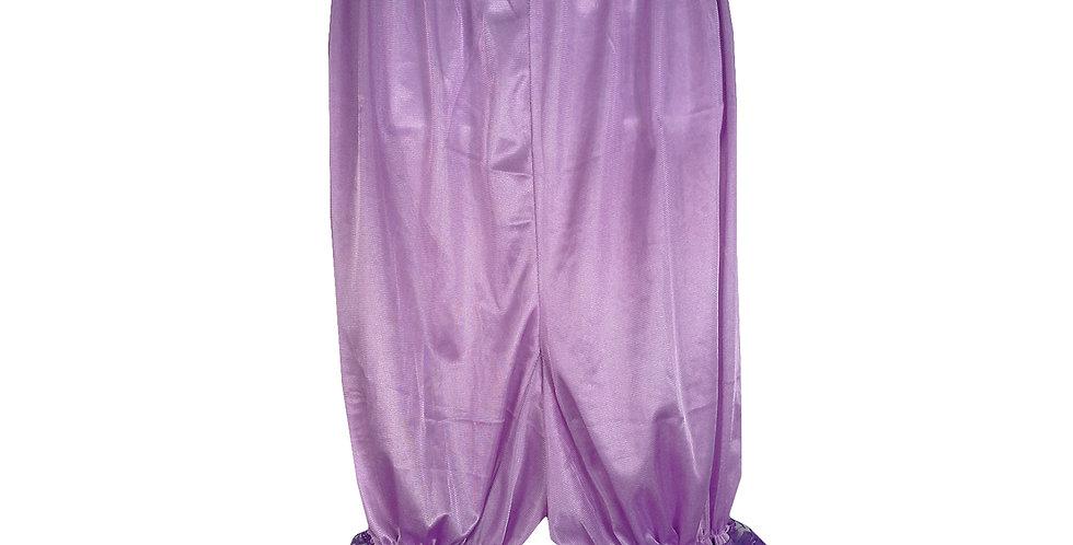 PTPH01D04 Fair Purple New Nylon Pettipants Women Men Slips Lace Lingerie
