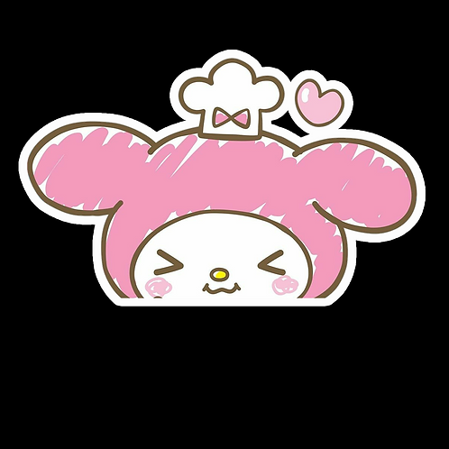 Peeker Anime Peeking Sticker Car Window Decal PK468 My Melody