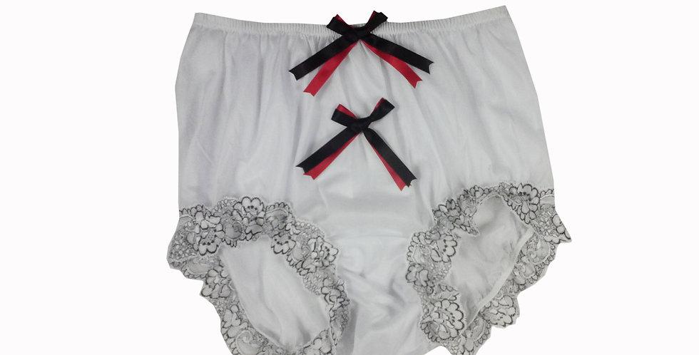 NNH10D118 Handmade Panties Lace Women Men Briefs Nylon Knickers