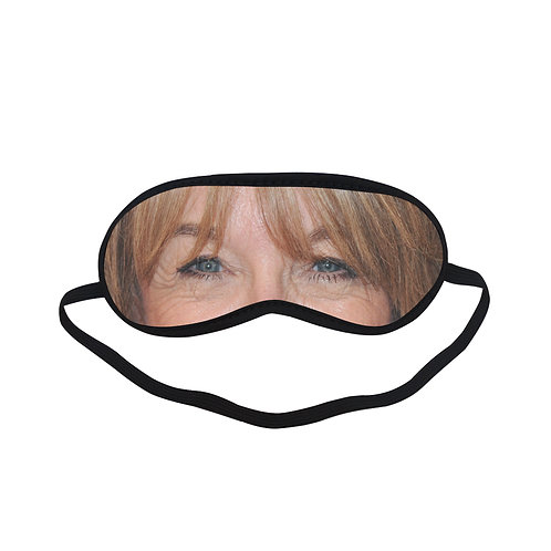 ITEM394 HELEN WORTH Eye Printed Sleeping Mask