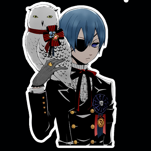 Anime Stickers Die-cut Car motorcycle laptops phone Truck wall BB40 Black Butler
