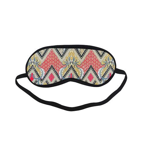 PTEM398 Mayan and Flower pattern Eye Printed Sleeping Mas