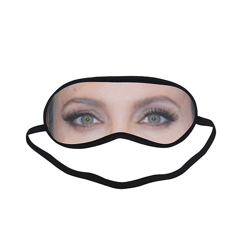 EOL024 Angelina Jolie Eye Printed Sleeping Mask