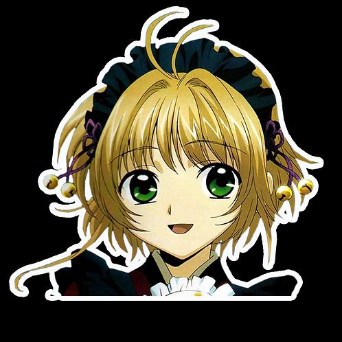 Anime Peeking Sticker Car Window Decal PK204 Sakura Tsubasa Reservoir Chronicle