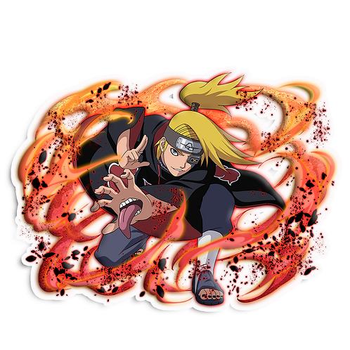 NRT37 Deidara Iwagakure Akatsuki Naruto anime stick