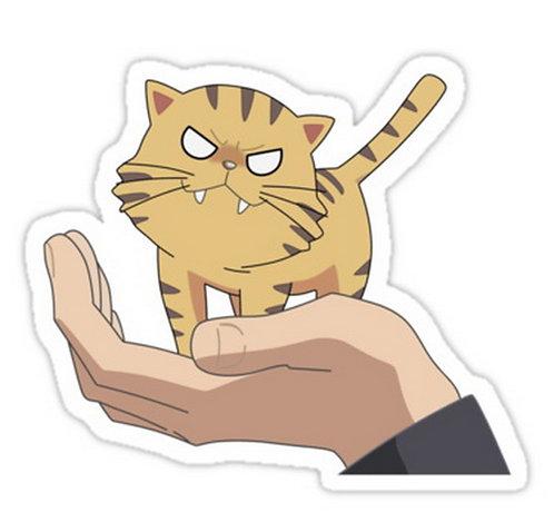 SRBB0695 Palm Top Tiger Toradora! anime sticker