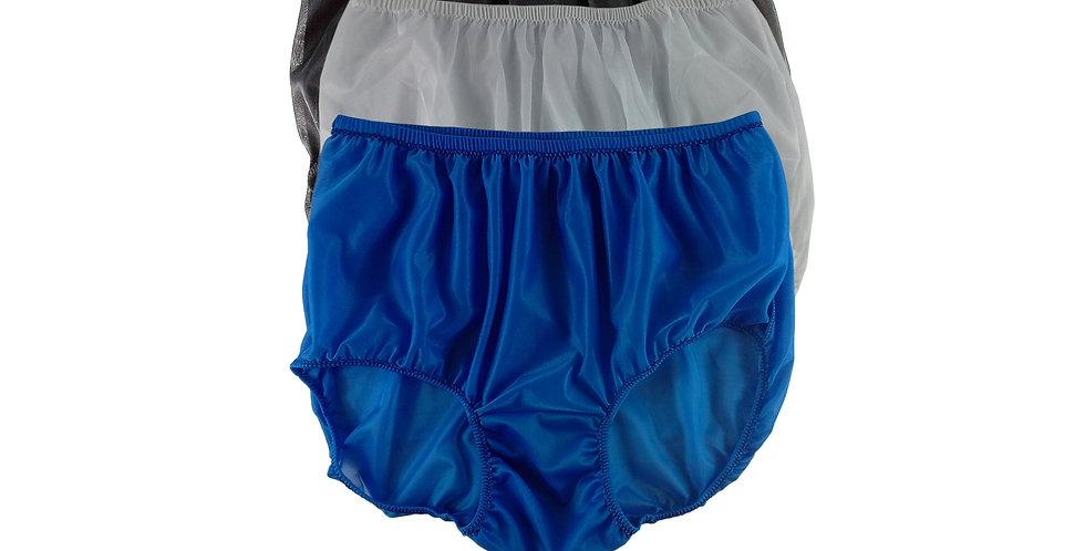 A117 Lots 3 pcs Wholesale Women New Panties Granny Briefs Nylon Knickers