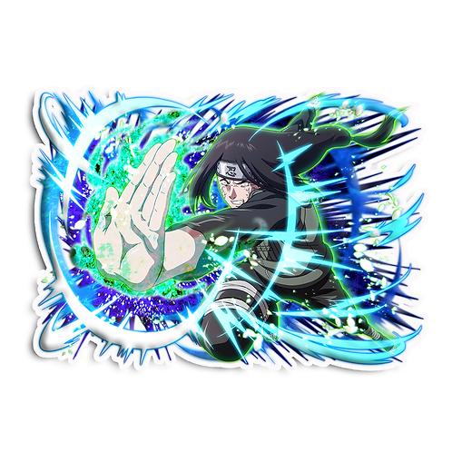 NRT286 Neji Hyuga Byakugan Naruto anime s